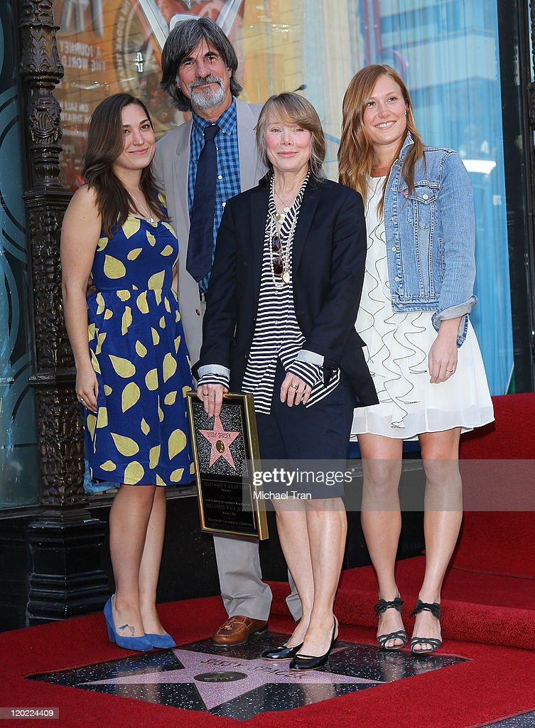 Sissy Spacek Receives Star On The Hollywood Walk Of Fame