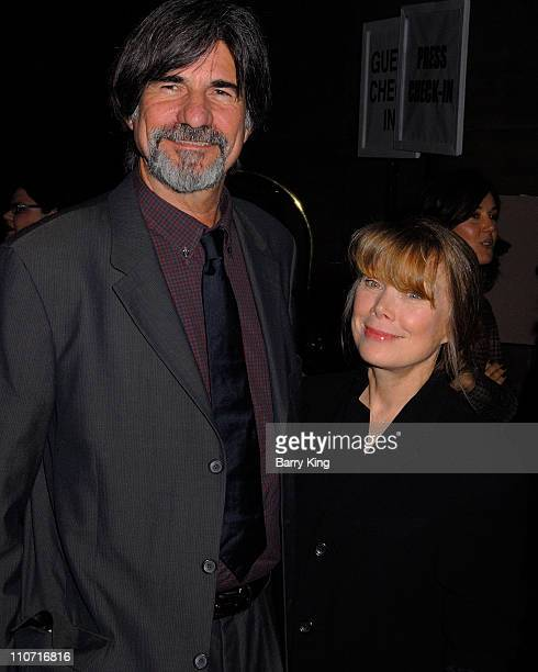 Actress Sissy Spacek and Jack Fisk arrive at the 2007 annual LA Film Critics awards held at the InterContinental on January 12 2008 in Los Angeles...