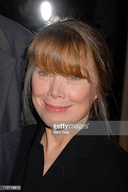 Actress Sissy Spacek arrives at the 2007 annual LA Film Critics awards held at the InterContinental on January 12 2008 in Los Angeles California