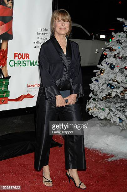 Actress Sissy Spacek arrives at the world premiere of Four Christmases held at Grauman's Chinese Theater