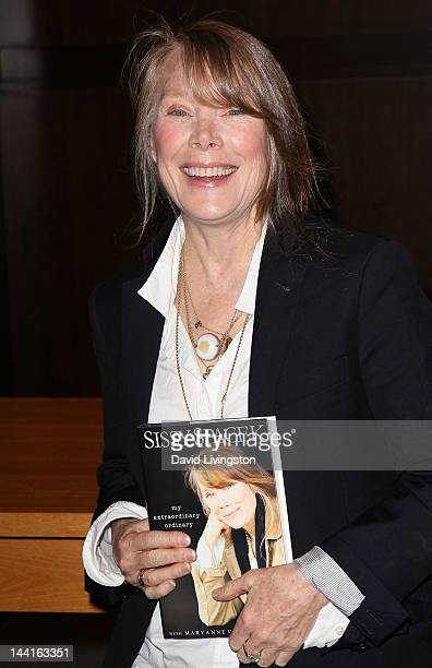 "Actress Sissy Spacek attends a signing for her book ""My Extraordinary Ordinary Life"" at Barnes & Noble at The Grove on May 10, 2012 in Los Angeles,..."