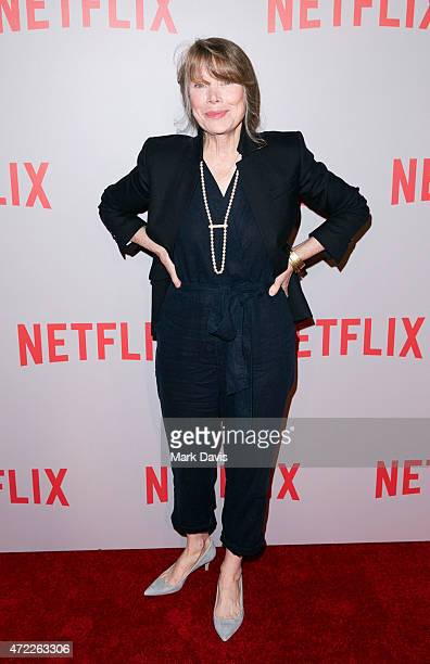 Actress Sissy Spacek attends Netflix's Bloodline Screening And QA attends at Pacific Design Center on May 4 2015 in West Hollywood California