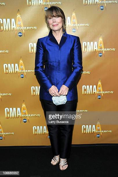Actress Sissy Spacek attends the 44th Annual CMA Awards at the Bridgestone Arena on November 10 2010 in Nashville Tennessee