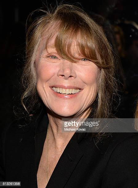 Actress Sissy Spacek attends the Los Angeles Premiere Of Broad Green Pictures' Knight Of Cups on March 1 2016 in Los Angeles California