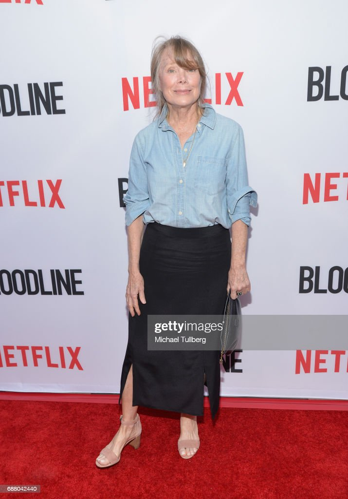 Actress Sissy Spacek attends the premiere of Netflix's 'Bloodline' Season 3 at Arclight Cinemas Culver City on May 24, 2017 in Culver City, California.