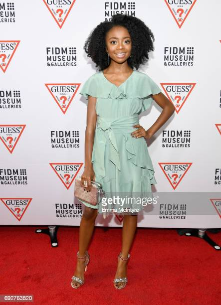 Actress Skai Jackson at GUESS Celebrates 35 Years with Opening of Exhibition at the FIDM Museum Galleries at FIDM Museum Galleries on the Park on...
