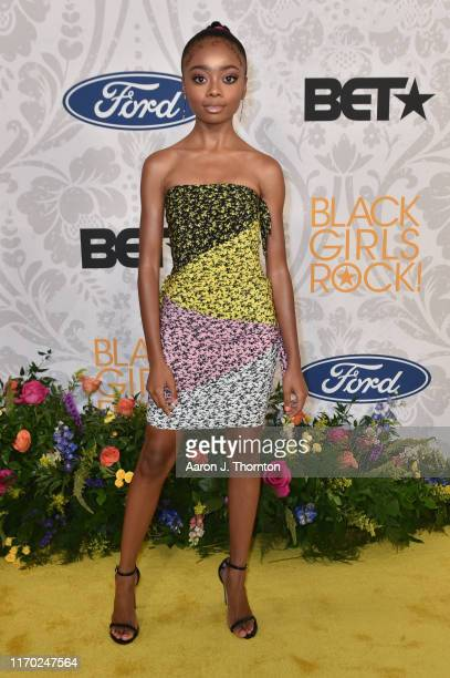 Actress Skai Jackson attends Black Girls Rock! at NJ Performing Arts Center on August 25, 2019 in Newark, New Jersey.