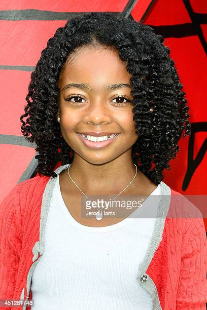 Actress Skai Jackson attends Camp Snoopy's 30th anniversary VIP party at Knott's Berry Farm on June 26 2014 in Buena Park California