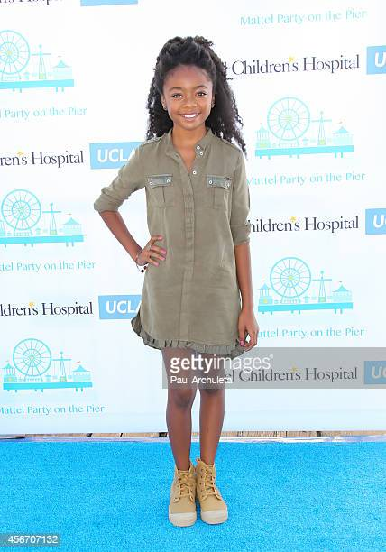 Actress Skai Jackson attends Mattel's 5th annual Party On The Pier at Santa Monica Pier on October 5 2014 in Santa Monica California