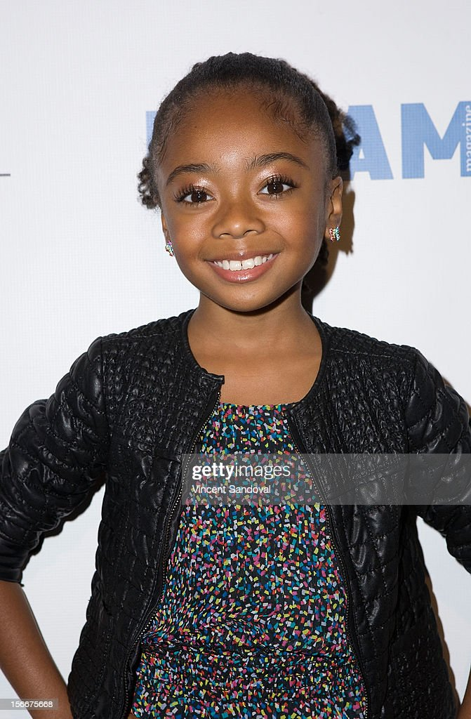 Actress Skai Jackson attends the 2nd Annual Dream Magazine Winter Wonderland Party on November 18, 2012 in Los Angeles, California.
