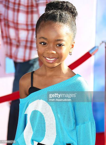 Actress Skai Jackson attends the premiere of Disney's 'Planes' at the El Capitan Theatre on August 5 2013 in Hollywood California