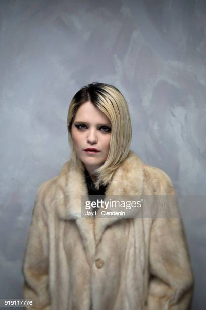 Actress Sky Ferreira from the film 'Lords of Chaos' is photographed for Los Angeles Times on January 23 2018 in the LA Times Studio at Chase Sapphire...
