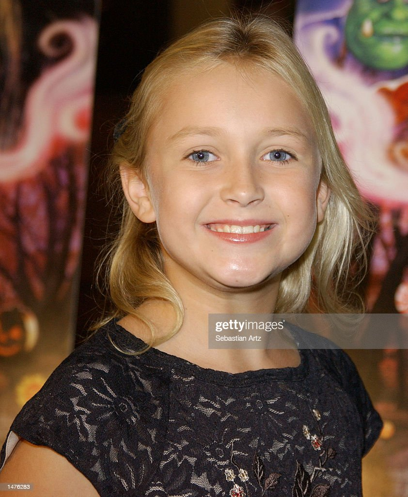 Actress Skye McCole Bartusiak arrives at the premiere of the movie 'Hansel & Gretel' on October 14, 2002 in Los Angeles, California.