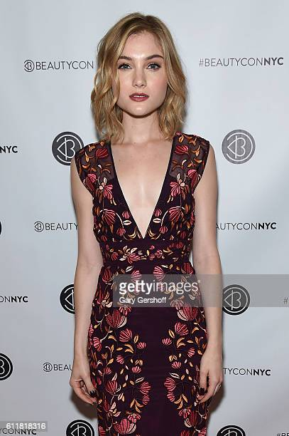 Actress Skyler Samuels attends the 3rd Annual Beautycon Festival New York at Pier 36 on October 1 2016 in New York City
