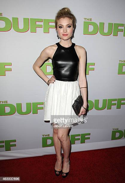 Actress Skyler Samuels attends the premiere of The Duff at TCL Chinese 6 Theatres on February 12 2015 in Hollywood California