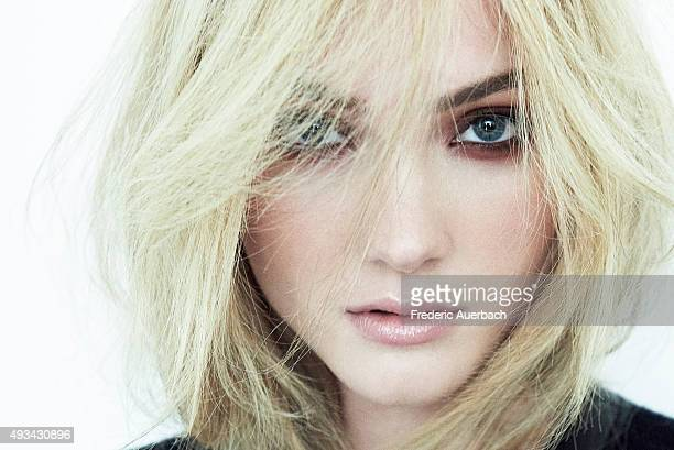 Actress Skyler Samuels is photographed for Flaunt Magazine on July 10 2015 in Los Angeles CaliforniaPublished Image
