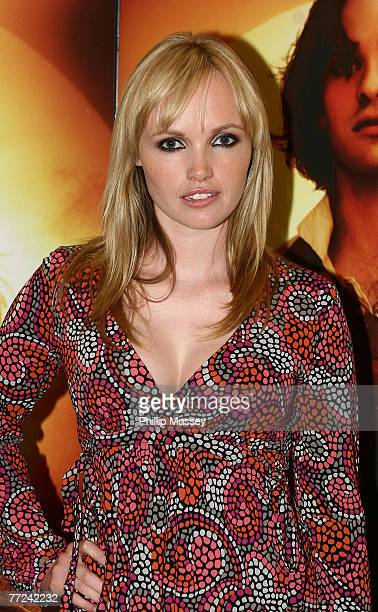 Actress Slaine Kelly attends the premiere of Stardust at the Savoy Cinema on October 9 2007 in Dublin Ireland