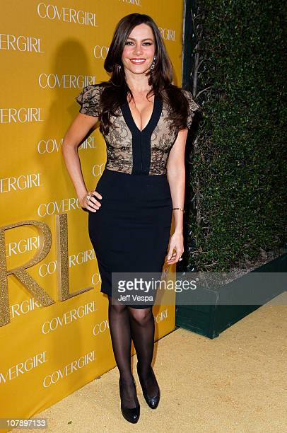 Actress Sofía Vergara arrives at COVERGIRL 50th Anniversary Celebration at BOA Steakhouse on January 5 2011 in West Hollywood California