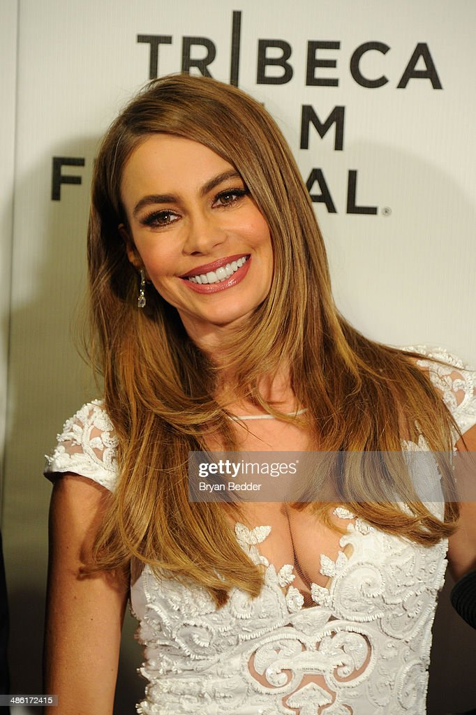 """Actress Sofía Vergara at the """"Chef"""" world premiere exclusively for American Express card members on April 22, 2014 in New York City."""