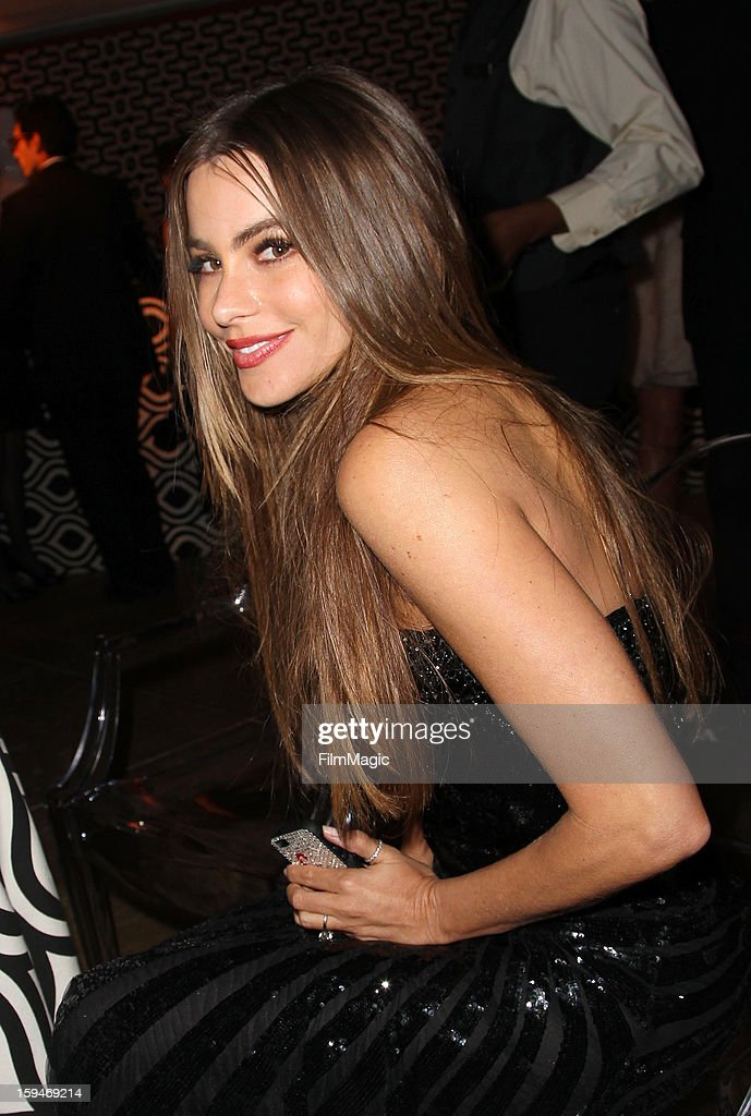 Actress Sofía Vergara attends HBO's Official Golden Globe Awards After Party held at Circa 55 Restaurant at The Beverly Hilton Hotel on January 13, 2013 in Beverly Hills, California.