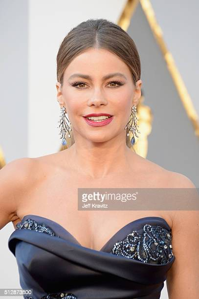 Actress Sofía Vergara attends the 88th Annual Academy Awards at Hollywood Highland Center on February 28 2016 in Hollywood California