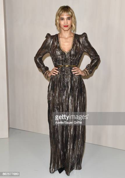 Actress Sofia Boutella arrives at Hammer Museum Gala in the Garden on October 14 2017 in Westwood California