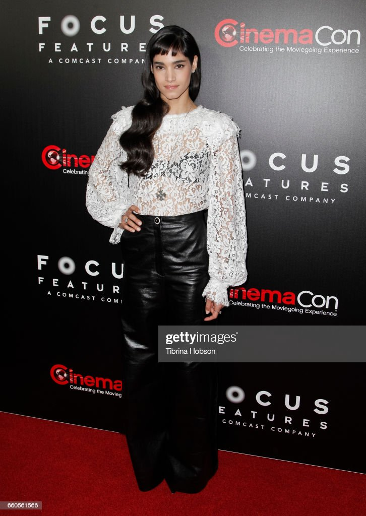 Actress Sofia Boutella attends Focus Features luncheon and studio program celebrating 15 Years during CinemaCon 2017 at Caesars Palaceon March 29, 2017 in Las Vegas, Nevada.