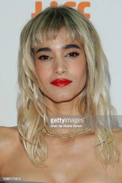 Actress Sofia Boutella attends the Climax premiere at Ryerson Theatre on September 9 2018 in Toronto Canada