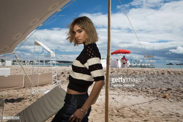 Actress Sofia Boutella is photographed for The Hollywood Reporter on May 2018 in Cannes France