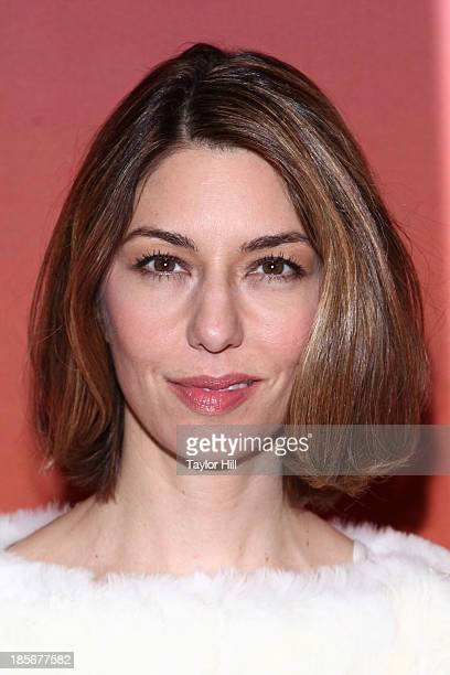 Actress Sofia Coppola attends the 2013 Whitney Gala and Studio party at Skylight at Moynihan Station on October 23 2013 in New York City