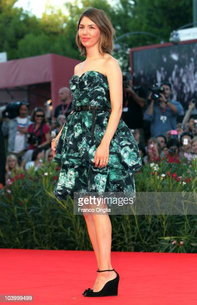 Actress Sofia Coppola attends the Closing Night and 'The Tempest' world premiere during the 67th Venice Film Festival at the Sala Grande Palazzo Del...