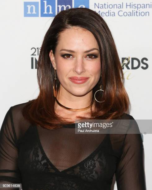 Actress Sofia Lama attends the National Hispanic Media Coalition's 21st annual Impact Awards at the Beverly Wilshire Four Seasons Hotel on February...