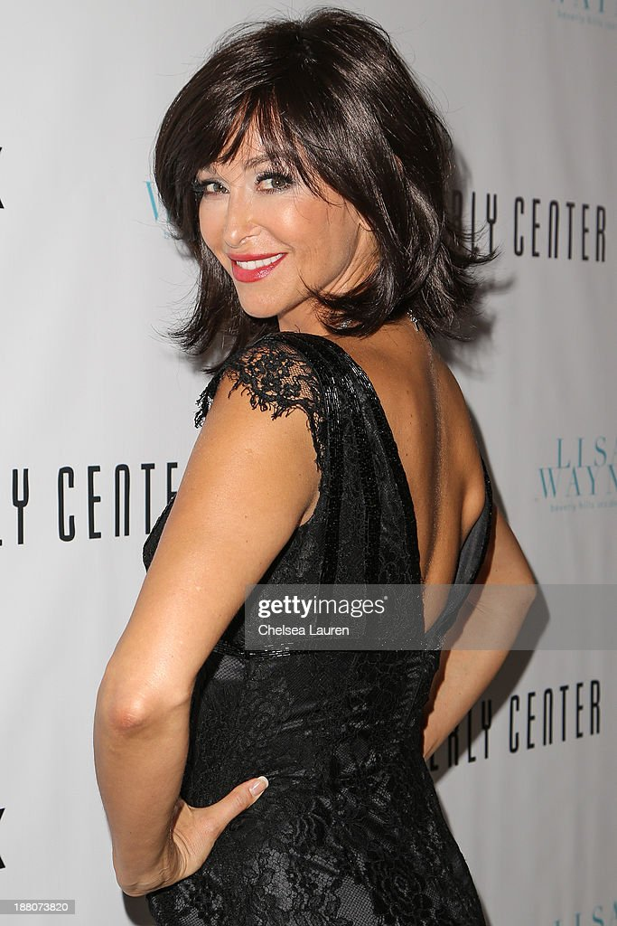 Actress Sofia Milos arrives at the Genlux new issue launch party hosted by Lisa Vanderpump on November 14, 2013 in Beverly Hills, California.
