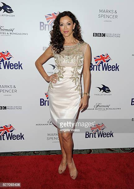 Actress Sofia Milos attends BritWeek's 10th Anniversary VIP Reception Gala at Fairmont Hotel on May 1 2016 in Los Angeles California