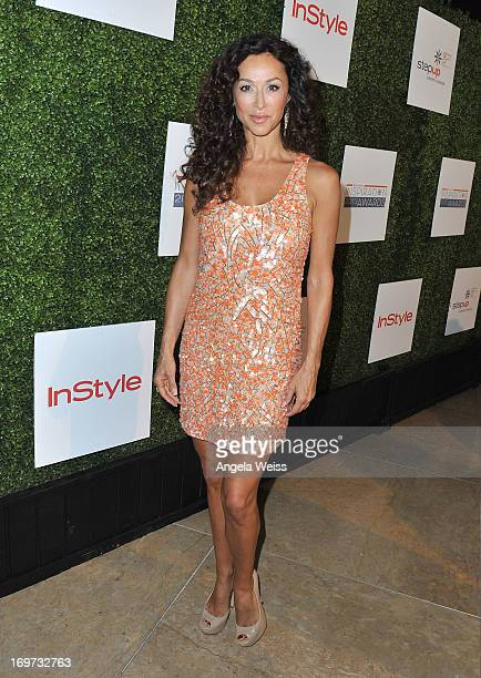 Actress Sofia Milos attends Step Up Women's Network 10th annual Inspiration Awards at The Beverly Hilton Hotel on May 31 2013 in Beverly Hills...