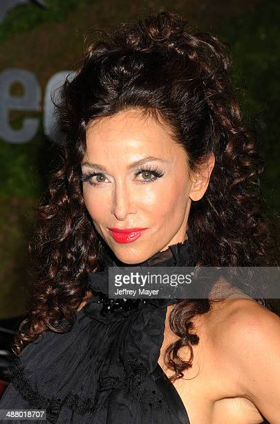 Actress Sofia Milos attends the Jaguar North America and BritWeek present a Villainous Affair held at The London on May 2 2014 in West Hollywood...
