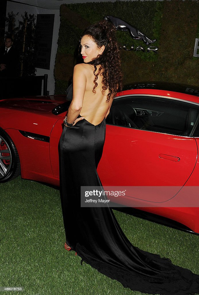 Actress Sofia Milos attends the Jaguar North America and BritWeek present a Villainous Affair held at The London on May 2, 2014 in West Hollywood, California.