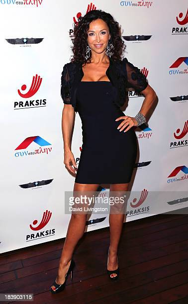 Actress Sofia Milos attends the Philhellenes Gala at SkyBar at the Mondrian Los Angeles on October 9 2013 in West Hollywood California