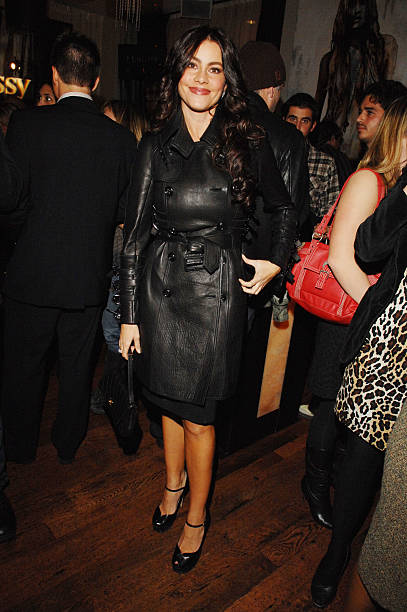 b89514758e7f Actress Sofia Veraga attends the Los Angeles Confidential Casey Affleck  Cover Party at One Sunset on