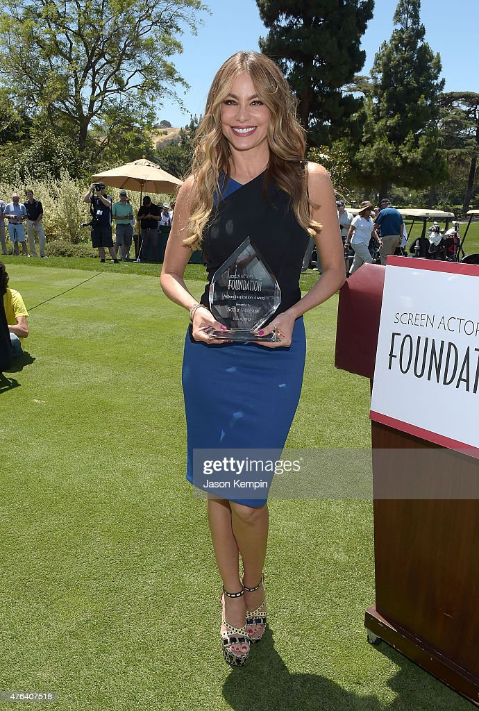 SAG Foundation Honors Sofia Vergara With Inaugural Actors Inspiration Award At Annual L.A. Golf Classic Fundraiser
