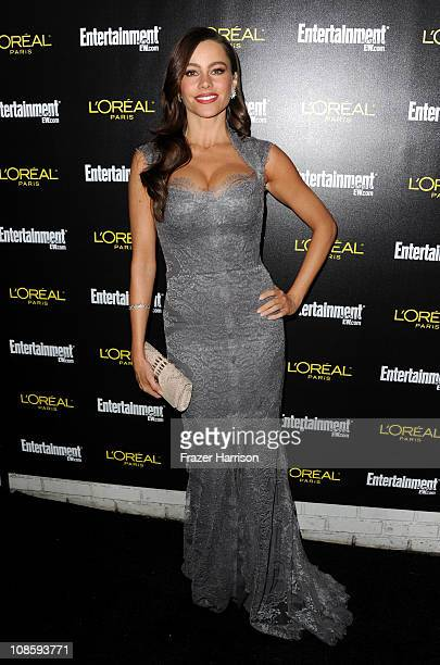 Actress Sofia Vergara arrives at Entertainment Weekly's celebration honoring the 17th Annual Screen Actors Guild Awards nominees hosted by Jess Cagle...