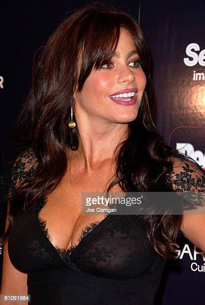 Actress Sofia Vergara arrives at People en Espanol 50 MOST BEAUTIFUL issue a special performance by one of 2008's mas bellos Daddy Yankee at Mansion...