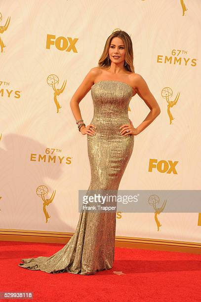 Actress Sofia Vergara arrives at the 67th Annual Primetime Emmy Awards held at the Microsoft Theater