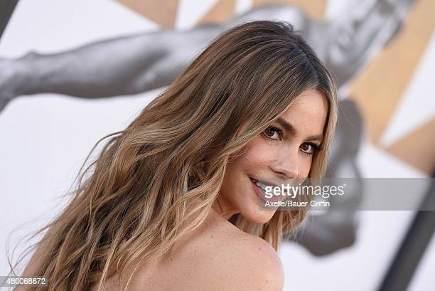 Actress Sofia Vergara arrives at the Los Angeles World Premiere of Warner Bros Pictures' 'Magic Mike XXL' at TCL Chinese Theatre IMAX on June 25 2015...