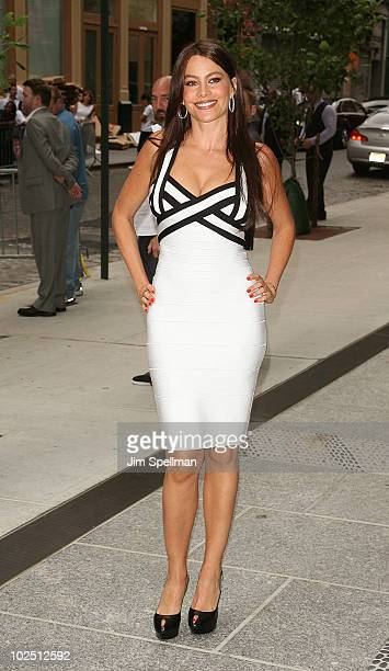 Actress Sofia Vergara attends a screening of The Twilight Saga Eclipse hosted by The Cinema Society and Piaget at the Crosby Street Hotel on June 28...