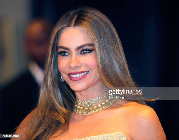 Actress Sofia Vergara attends the 100th Annual White House Correspondents' Association Dinner at the Washington Hilton on May 3 2014 in Washington DC