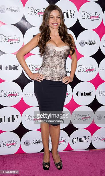 Actress Sofia Vergara attends the 15th annual People en Espanol '50 Most Beautiful' Issue Celebration at Guastavino's on May 19 2011 in New York City