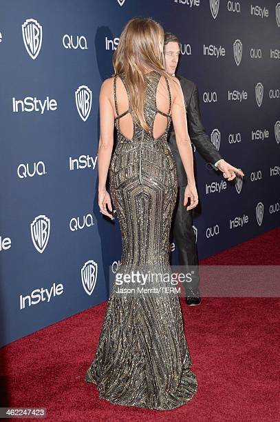 Actress Sofia Vergara attends the 2014 InStyle and Warner Bros 71st Annual Golden Globe Awards PostParty on January 12 2014 in Beverly Hills...