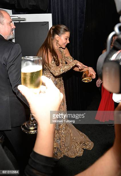 Actress Sofia Vergara attends the 2017 Weinstein Company And Netflix Golden Globes After Party on January 8 2017 in Los Angeles California