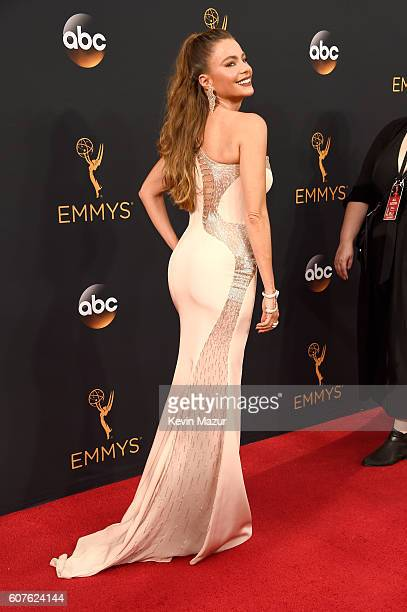 Actress Sofia Vergara attends the 68th Annual Primetime Emmy Awards at Microsoft Theater on September 18, 2016 in Los Angeles, California.